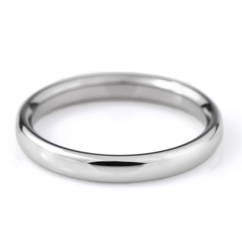 チタン 結婚指輪 マリッジリング プラチナ イオンプレーティング加工 日本製 鏡面仕上げ ペアリング ダイヤモンド付き&なし ペアセット  刻印無料(文字彫り) 金属アレルギー対応 アレルギーフリー 安心 ハート&キューピット ダイヤ 純チタン