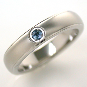 TITAN(純チタン) アクアマリン(3月の誕生石) リング【送料無料】 指輪 金属アレルギー 安心 【ホワイトデー特集2020】