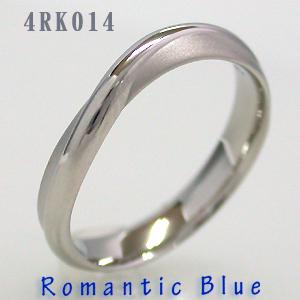 結婚指輪 マリッジリング プラチナ RomanticBlue(ロマンティックブルー) 4RK014B サファイヤ入り【送料無料】(e-宝石屋)ジュエリー 通販 ギフト 刻印無料(文字彫り) jbcb 刻印無料 【ホワイトデー特集2020】