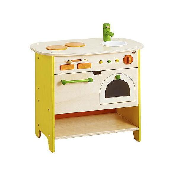 森のアイランドキッチン 木のおもちゃ ままごと ごっこあそび キッチン 送料無料