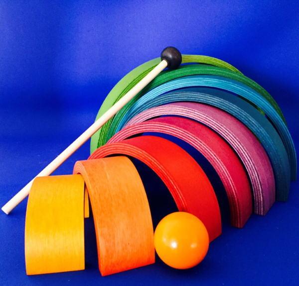 虹色トンネル アークレインボウ クーポン配布中 ネフ社 naef 送料無料 35%OFF 積み木 アークレインボー 積木 通常便なら送料無料 木のおもちゃ