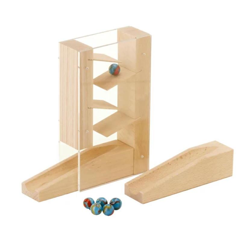 ハバ社を代表するロングセラーの木のおもちゃです クーポン配布中 組立てクーゲルバーン 階段セット HA1157 新作からSALEアイテム等お得な商品満載 おまけのビー玉5個付き 木のおもちゃ 積木 積み木 ドイツ つみき 知育 期間限定お試し価格 ハバ 玩具 HABA 補助パーツ