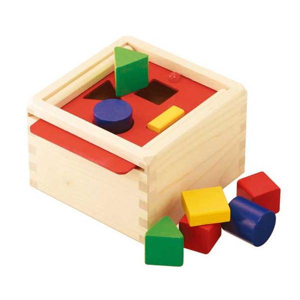 【ディズニーDVDプレゼント】【クーポン5%OFF】 セレクタかたちの箱 木のおもちゃ Selecta セレクタ ドイツ 知育 玩具