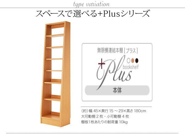無限横連結本棚 本体【送料無料・代引不可】