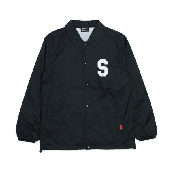 SUBCIETY コーチジャケット  JUNIOR 黒  (サブサエティー)