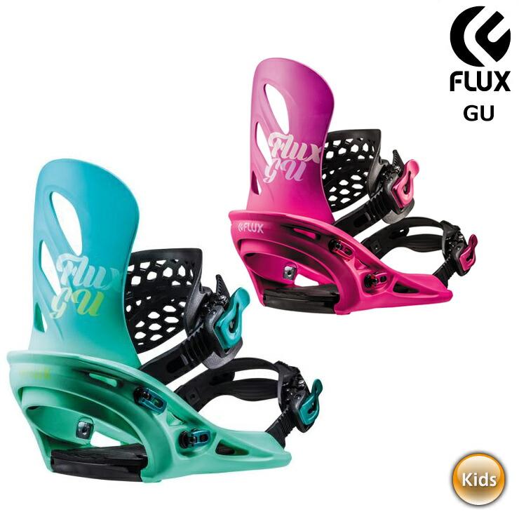 18-19 2019 FLUX フラックス GU ビンディング スノーボード レディース ユース キッズ【JSBCスノータウン】