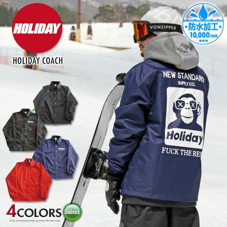 HOLIDAY ホリデー HOLIDAY COACH コーチジャケット ユニセックス 19-20 2020 スノーボード スキー【スノータウン】