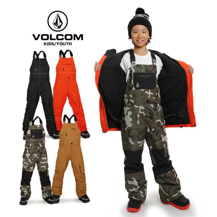 【早期予約】19-20 2020 VOLCOM ボルコム Barkley Bib Overall オーバーオール キッズ スノーウェア ジュニア 子供【スノータウン】