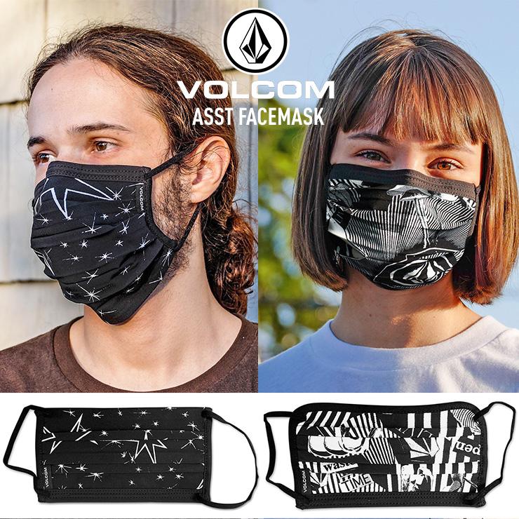 公式サイト 2020春夏 ボルコム マスク 2020 SS ASST 誕生日 お祝い VOLCOM フェイスマスク FACEMASK JSBCスノータウン