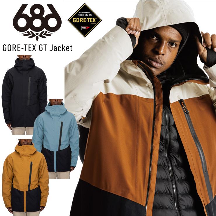 2022 全国どこでも送料無料 早期予約 21-22 686 シックスエイトシックス GORE-TEX GT Jacket スノーウェア スノーボード JSBCスノータウン スキーウェア 5☆大好評 21 ウェア 22 ゴアテックスジャケット