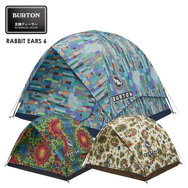 18-19 2019 BURTON バートン BIG AGNES×Rabbit Ears 6 Tent ラビットイヤーズ テント キャンプ アウトドア【スノータウン】