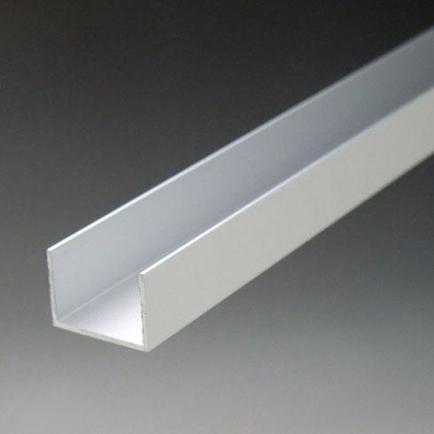 アルミ材 アルミ型材 のC型チャンネルを販売 Cチャンネルは幅広い規格 ギフ_包装 寸法 サイズを取り揃え 建材やDIYにも最適です アルミチャンネル ※サービスカット対応商品です x25x4000mm 2020モデル アルマイトシルバー 2.0x25 内寸21