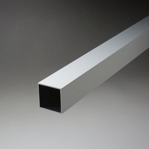 アルミ材 アルミ型材 の等辺角パイプを販売 正角から平角まで幅広い規格サイズ 寸法を取り揃え ※サービスカット対応商品です 1.1x25x25x4000mm アルミ角パイプ 新作通販 人気ブランド多数対象 アルマイトシルバー 建材やDIYにも最適です