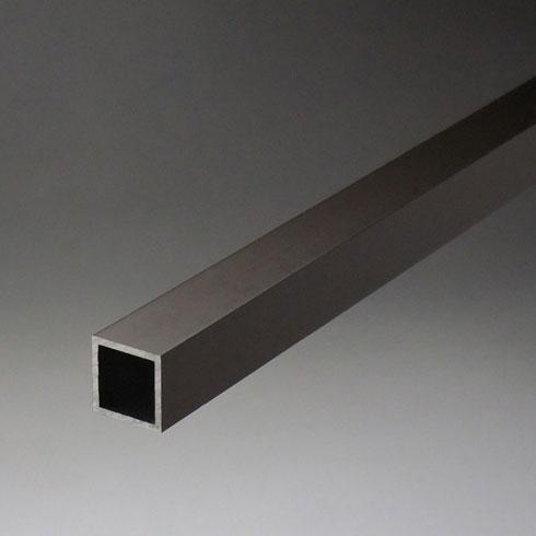 アルミ等辺角パイプ 2.0x50x50x5000mm(4M+1M) ブロンズ 【※サービスカット対応商品です】【あす楽対応】