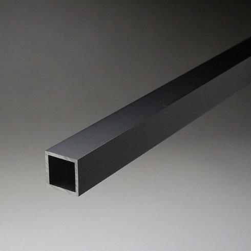 アルミ等辺角パイプ 2.0x50x50x4000mm ブラック 【※サービスカット対応商品です】【あす楽対応】