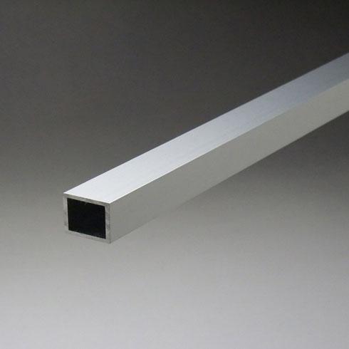 アルミ不等辺角パイプ 2.0x40x80x5000mm(4M+1M) シルバーED(ツヤ有) 【※サービスカット対応商品です】【あす楽対応】