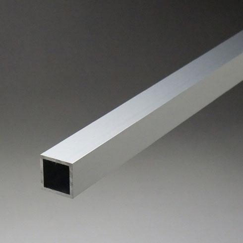 アルミ正角パイプ 2.5x60x60x5000mm(4M+1M) 生地(表面処理なし) 【※サービスカット対応商品です】