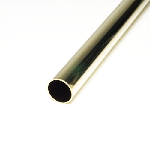 パイプブラケットやパイプソケット 丸パイプを多数取り揃え販売 モデル着用 注目アイテム 真鍮製やステンレス製など材質も 寸法サイズや色も豊富 真鍮丸パイプ HRP-1 ゴールド 磨き x 25mm 訳あり品送料無料 3000mm