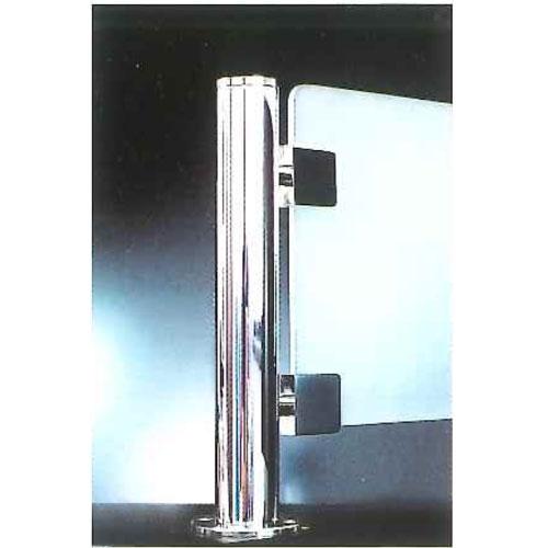 間仕切などのガラススクリーン用ポール ガラススクリーンポール セールSALE%OFF ホルダータイプ Sタイプ 公式ストア 一方 32mm インロー固定 L250mm x クローム 半球頭