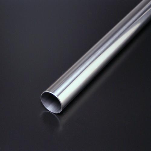 ステンレスパイプ HRP-2 50mm(t1.2mm) x 4000mm #400研磨仕上 【※サービスカット対応商品です】【あす楽対応】