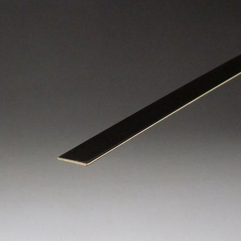 真鍮フラットバー(厚口) 3.0x20x2000mm 磨き(#400) 【あす楽対応】
