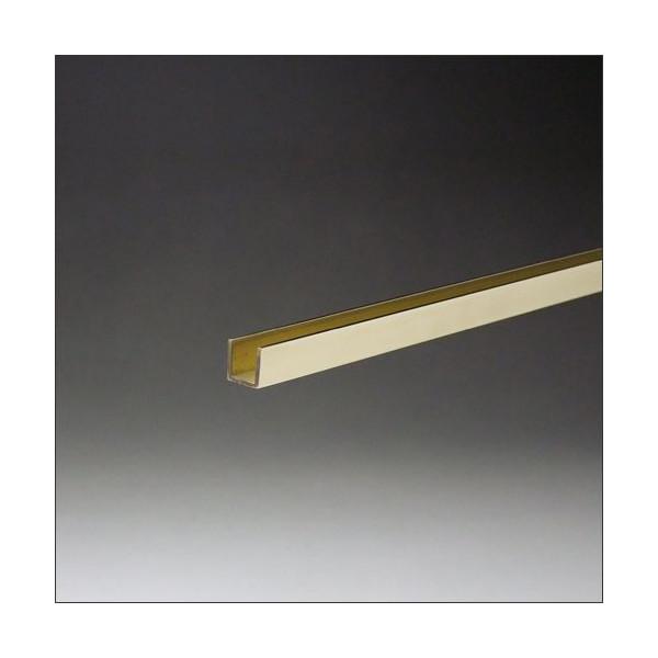 真鍮チャンネル 25mm x 2000mm #400研磨仕上