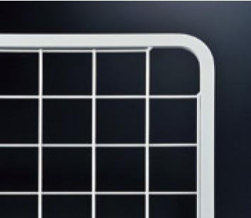 ネットパネル(6x13フレーム) NPD-1/O-3 白塗装 W 926mm x H 1526mm 【あす楽対応】