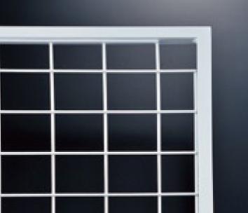 ネットパネル(13x13フレーム) NPD-2/W-1 白塗装 W 900mm x H 900mm 【あす楽対応】