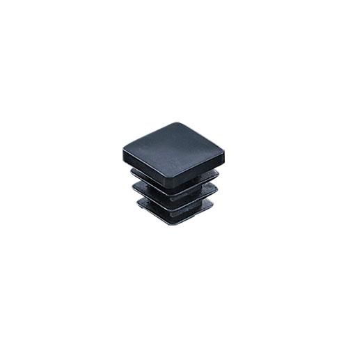 組立パイプシステムのパイプユニット 人気商品 自由にご希望サイズのディスプレイラックが製作できます 組立パイプシステム UPS-16S 16mm角パイプ用 黒 定番から日本未入荷 ※1袋10個入 パイプキャップ