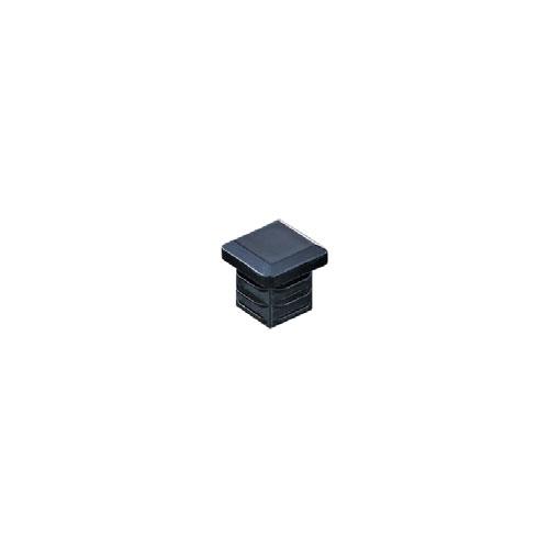 組立パイプシステムのパイプユニット 自由にご希望サイズのディスプレイラックが製作できます 組立パイプシステム UPS-19S 即納最大半額 休み パイプキャップ 19mm角パイプ用 ※1袋10個入 黒
