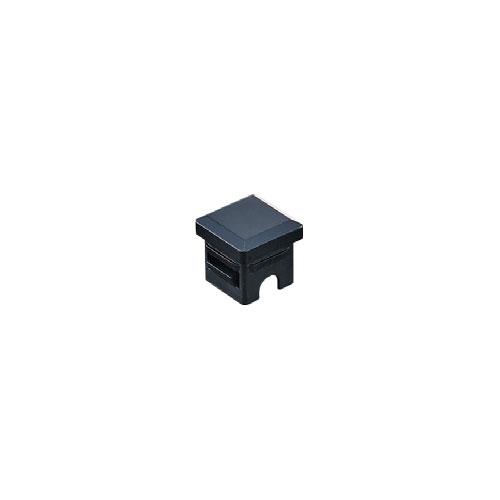 組立パイプシステムのパイプユニット 自由にご希望サイズのディスプレイラックが製作できます 組立パイプシステム 流行のアイテム UPS-25S 黒 ※1袋4個入 春の新作シューズ満載 25mm角パイプ用 パイプキャップ