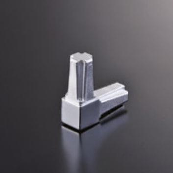 安心の定価販売 組立パイプシステムのパイプユニット 自由にご希望サイズのディスプレイラックが製作できます 組立パイプシステム UPS-16S クロームメッキ コネクター 2P 16mm角パイプ用 日本メーカー新品