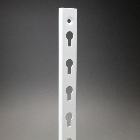 【ダボ柱】 KTD-3W スチール製 A型ダボ柱 1820mm ホワイト 40本入 【あす楽対応】