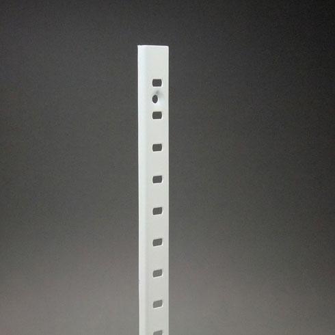 ステンレス棚柱 KTR-1SW 1819mm ホワイト 40本ケース入 【あす楽対応】