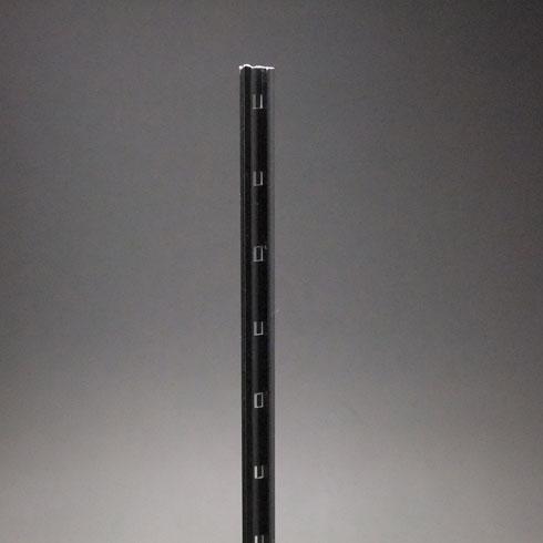 スリム棚柱(掘込用) KTR-5A 1820mm ブラック 40本ケース入 【あす楽対応】