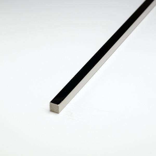 ステンレス角棒 SUS304 20x20x4000mm #400研磨仕上 【※サービスカット対応商品です】