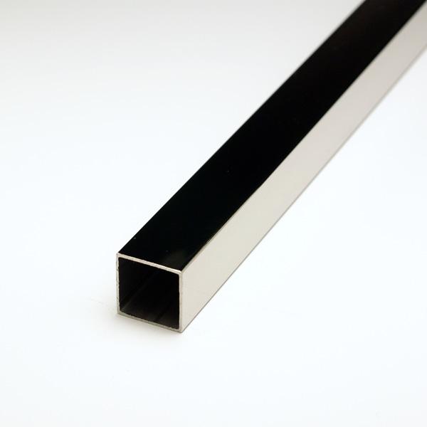 ステンレス角パイプ SUS304 1.5x24x24x5000mm(4M+1M) #400研磨仕上 【※サービスカット対応商品です】