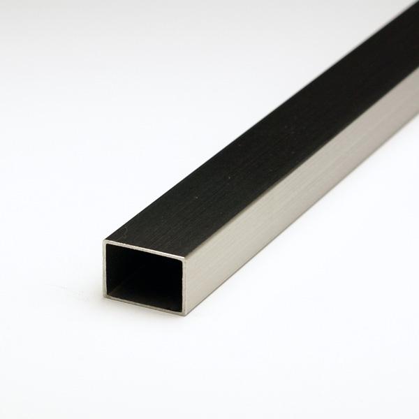 ステンレス不等辺角パイプ SUS304 1.5x30x50x5000mm(4M+1M) ヘアライン仕上 【※サービスカット対応商品です】