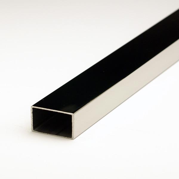 ステンレス不等辺角パイプ SUS304 1.2x12x25x5000mm(4M+1M) #400研磨仕上 【※サービスカット対応商品です】