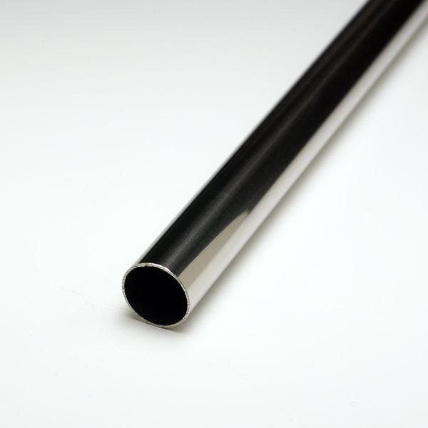 ステンレス丸パイプ SUS304 2.0x42.7φx4000mm #400研磨仕上 【※サービスカット対応商品です】