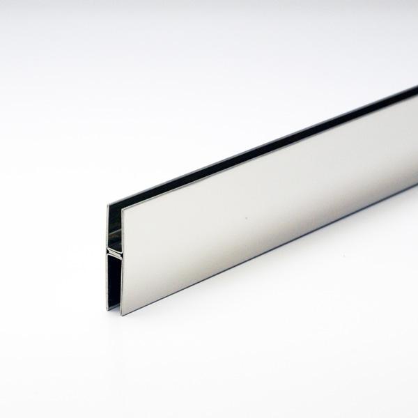 ステンレスハカマ 6mm用 40mmH x 2000mm 鏡面(#600研磨)仕上