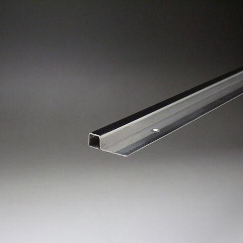 ステンレスミラーエッジ(サラ穴付) 10x10x3000mm 鏡面(#600研磨)仕上 【※サービスカット対応商品です】【あす楽対応】