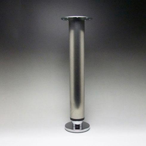 テーブル脚 昇降式ポール脚 DSS-600A 高さ調整幅 630~730mm(2cm間隔x5段階昇降) ステンレス ヘアライン