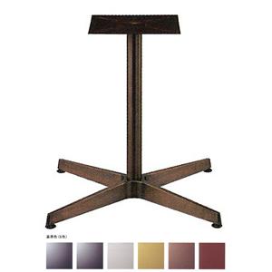 テーブル脚 AB2650 ベース463x463 パイプ42.7φ 受座240x240 アルミジービー/塗装パイプ AJ付 高さ700mmまで