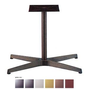 テーブル脚 AB3800 ベース683x425 パイプ42.7φ 受座240x240 アルミジービー/塗装パイプ AJ付 高さ700mmまで