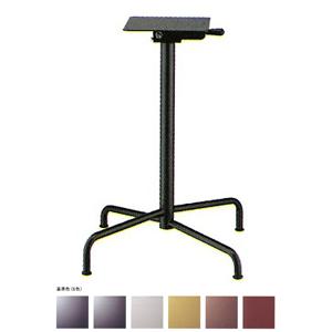 テーブル脚 アポロS2700(スタッキング収納式) ベース495x495 パイプ50.8φ 受座240x240 基準色塗装 AJ付 高さ700mmまで