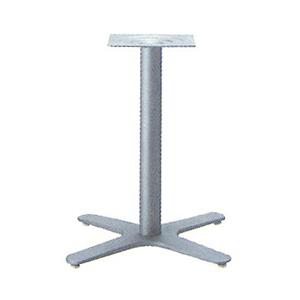 テーブル脚 エリアS2650 ベース475x475 パイプ60.5φ 受座240x240 F30紛体塗装 AJ付 高さ700mmまで