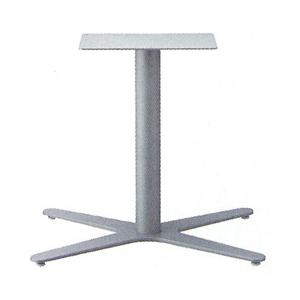 テーブル脚 エリアS3800 ベース660x465 パイプ76.3φ 受座250x400 F30紛体塗装 AJ付 高さ700mmまで