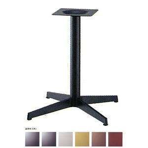 テーブル脚 ベストS2800 ベース575x575 パイプ60.5φ 受座240x240 基準色塗装 AJ付 高さ700mmまで