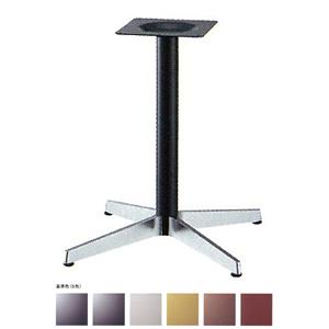 テーブル脚 ベストS2800 ベース575x575 パイプ60.5φ 受座240x240 ショットクローム/塗装パイプ AJ付 高さ700mmまで